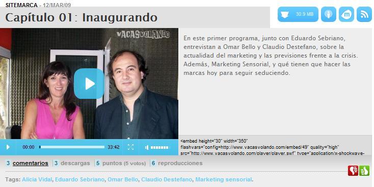 Nuestro capítulo uno con Eduardo Sebriano